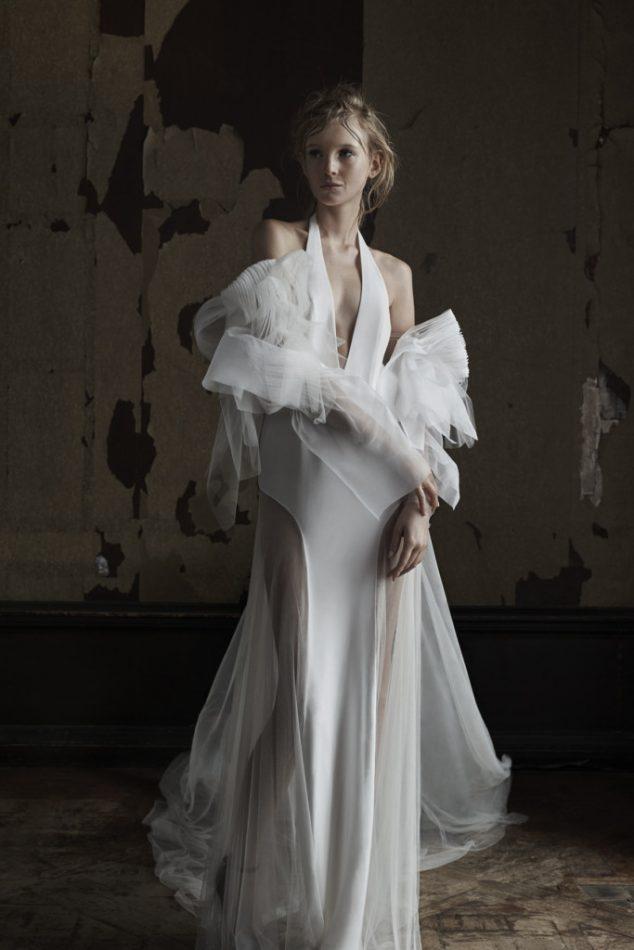 Feather Wedding Dress Vera Wang. Cool Vera Wang With Feather Wedding ...