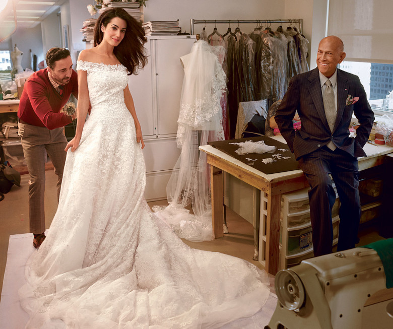 amal wedding dress
