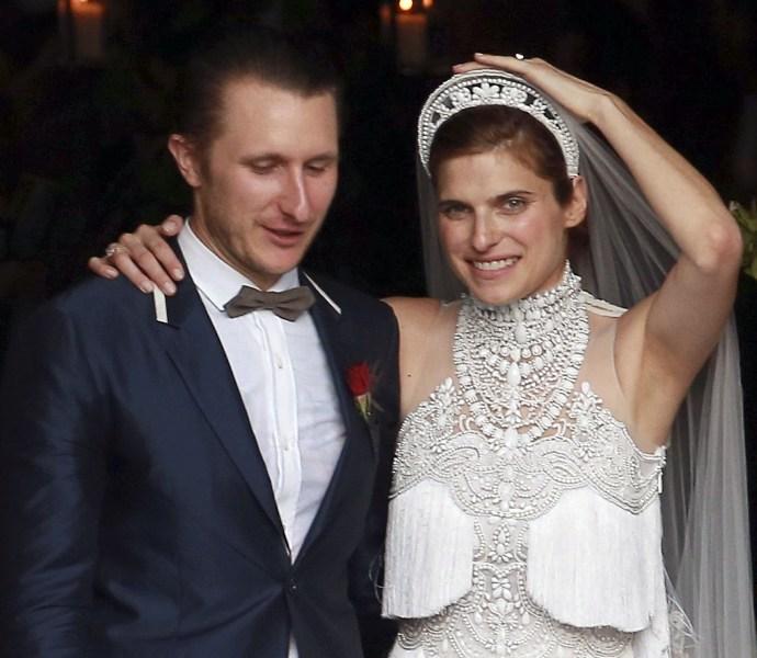 Vestidos de novia de las artistas