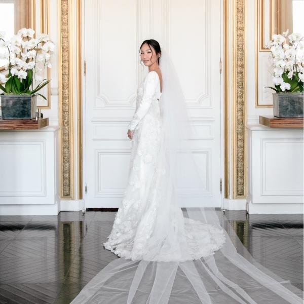 Nicole Warne Wedding Dress Valentino