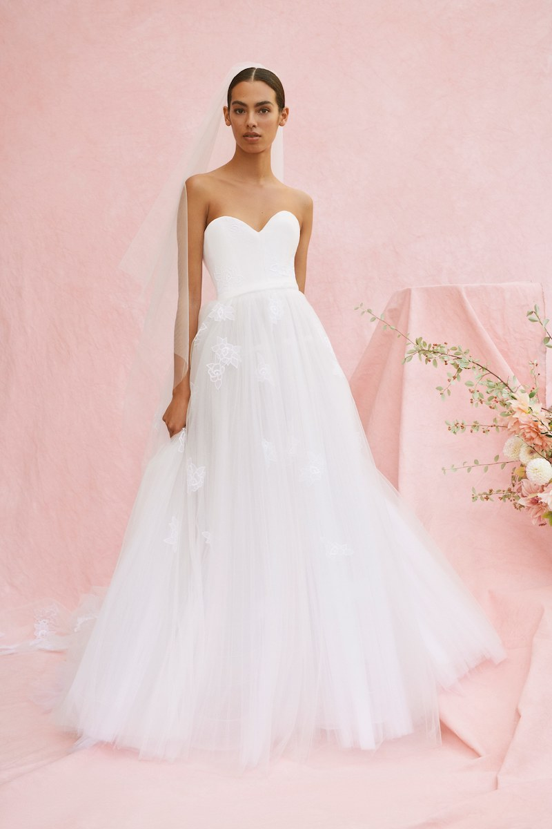 Carolina Herrera bridal fall 2020