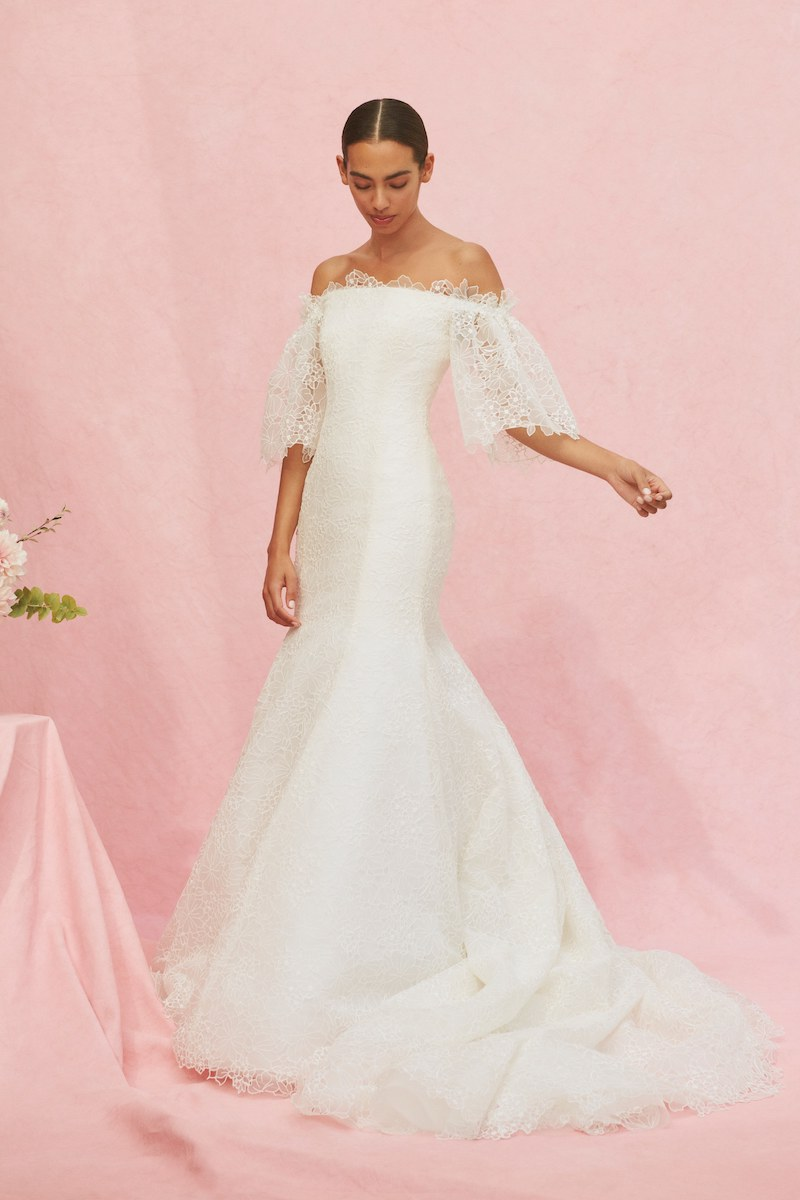 Carolina Herrera bridal fall 2020 MARGUERITE