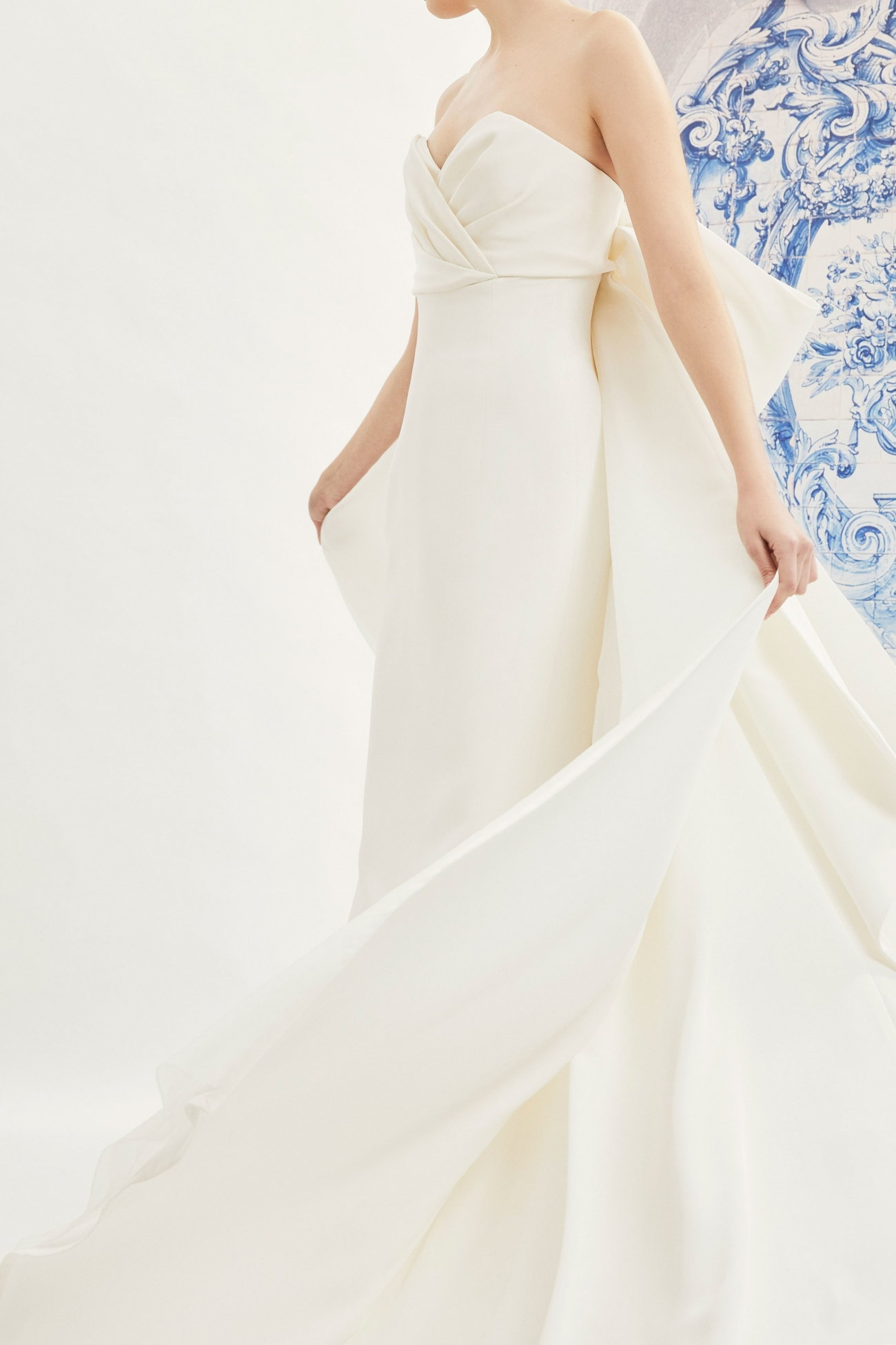 Carolina Herrera Bridal Fall 2019 Indira