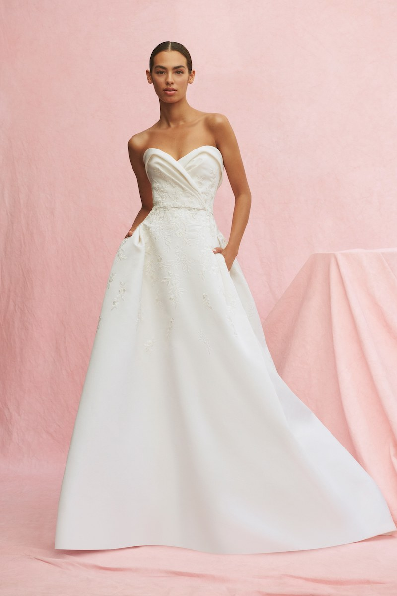 Carolina Herrera bridal fall 2020 musette