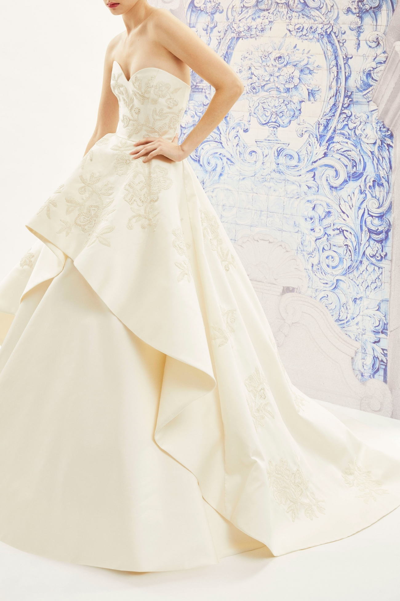 Carolina Herrera Bridal Fall 2019 Ivonne