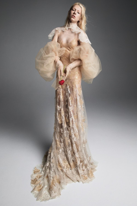 Vera Wang Vestido de Novia Otoño 2019 Simone