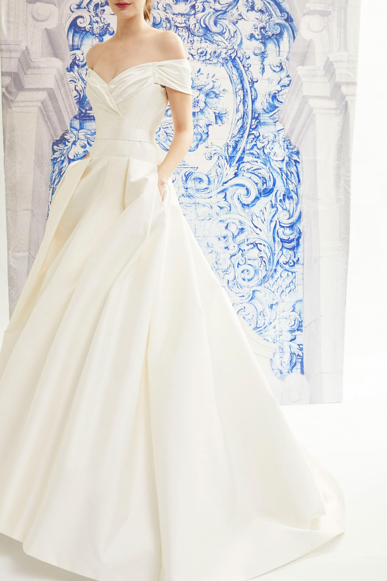 Carolina Herrera Bridal Fall 2019 Isabelle
