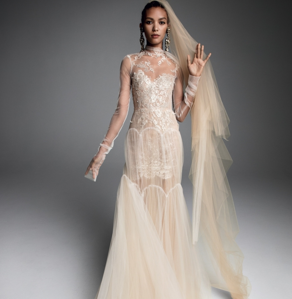 Vera Wang bridal Dress Fall 2019 Sandrine