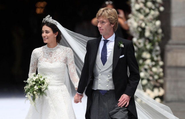 Royal Wedding Prince Christian of Hanover with Alessandra Osma