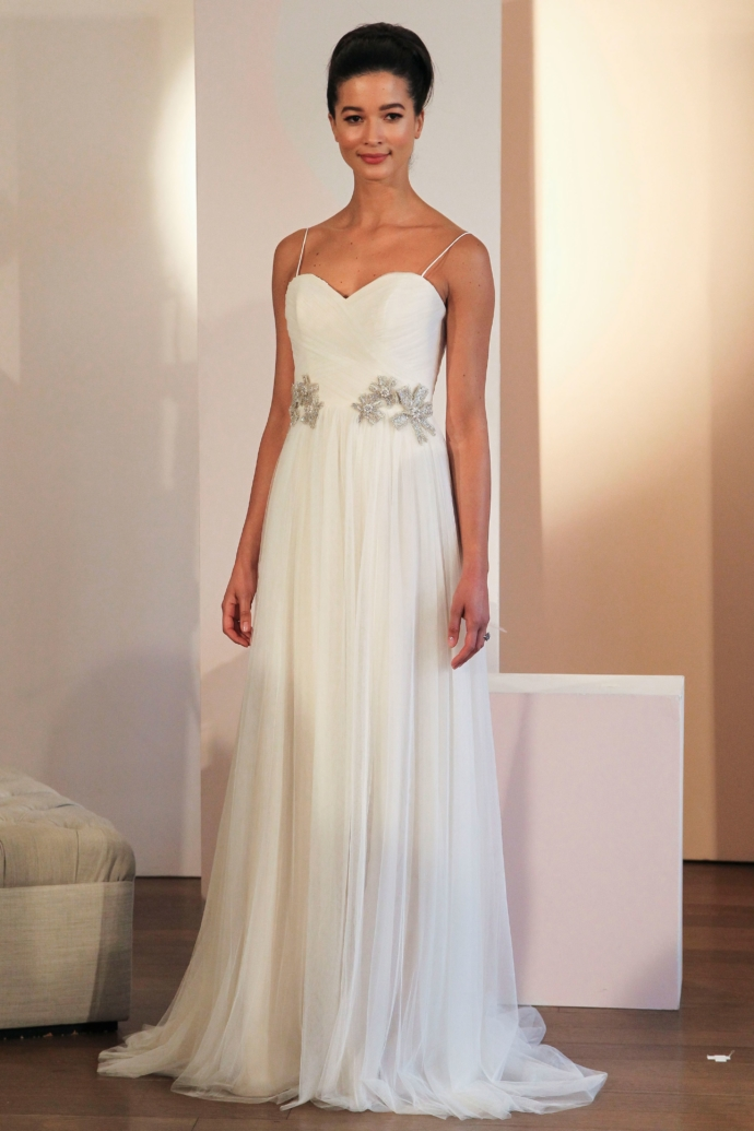 Sophisticated Wedding Dress Anne Barge