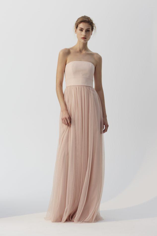 Vestido de dama de honor Amsale