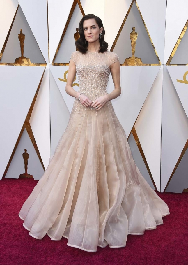 Allison Williams Oscar 2019
