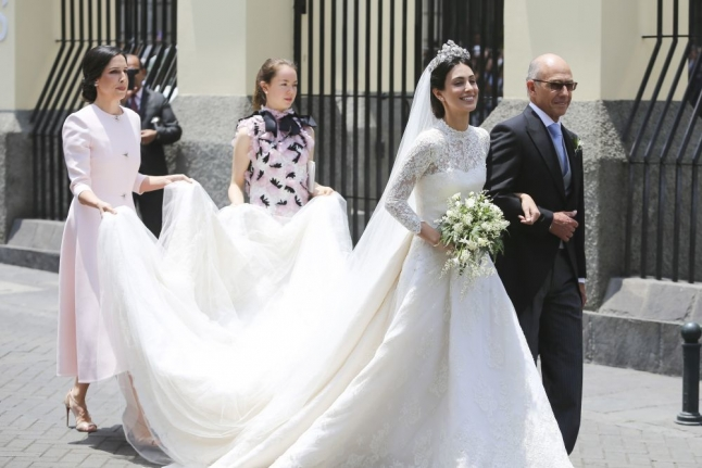 Alessandra Osma wedding Dress