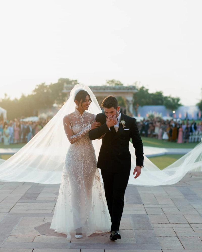 Priyanka Chopra wedding dress Ralph Lauren