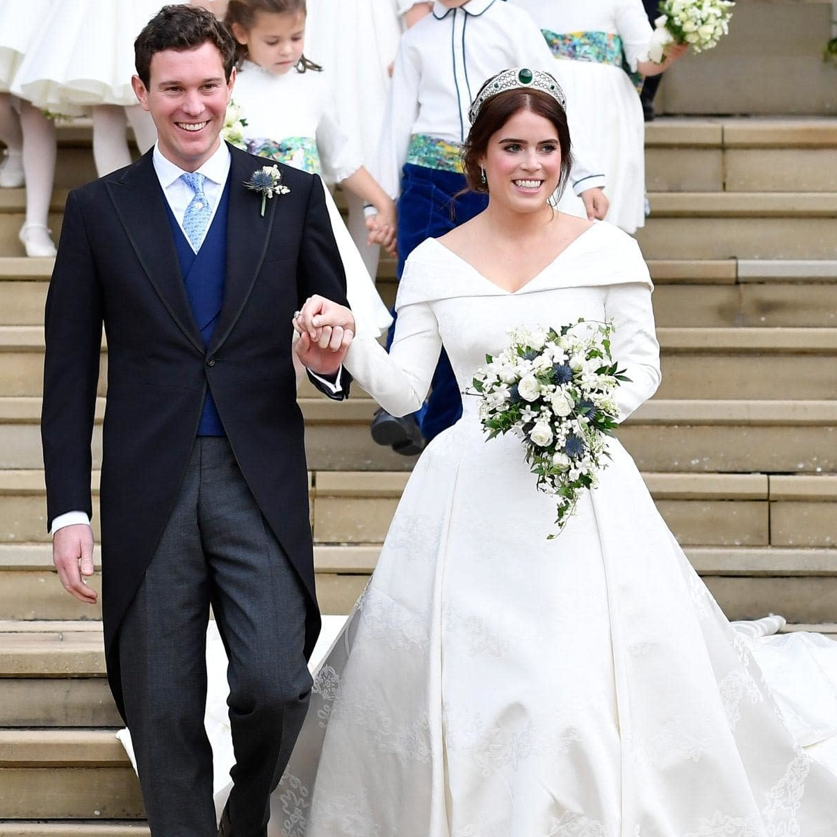 Princess Eugenie Wedding Dress Peter Pilotto