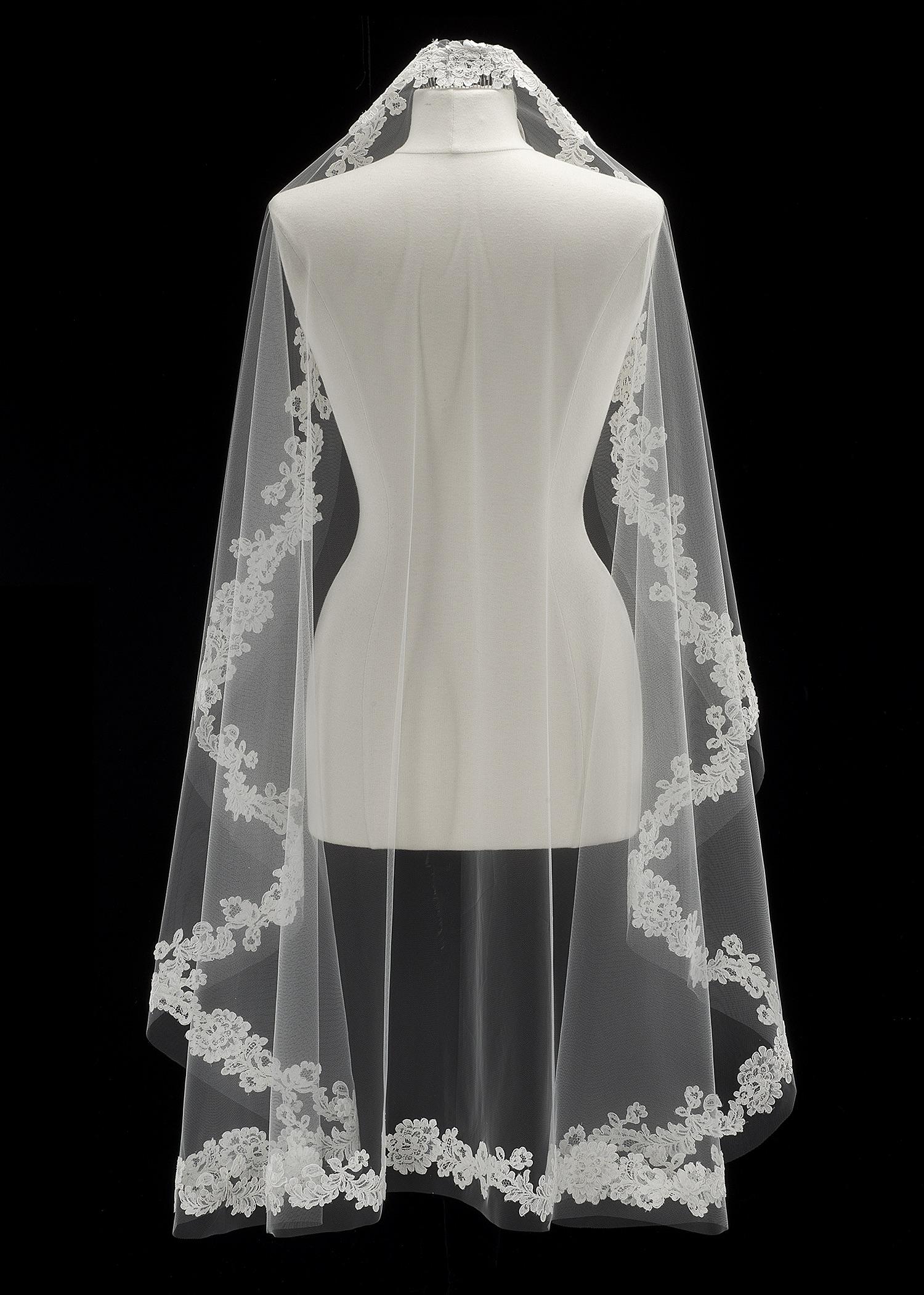 Homa Bridal velo corto