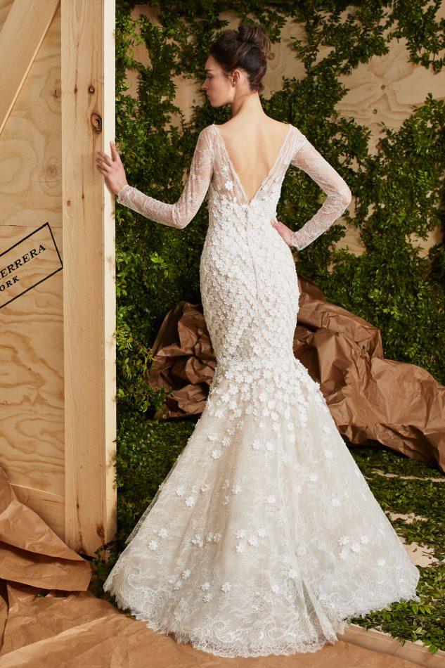 Carolina Herrera Bridal Spring 2017 | Farah Novias