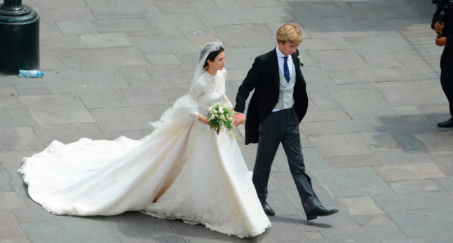 Prince Christian of Hanover and  Alessandra Osma wedding