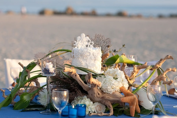 Beach-Wedding-Centerpiece