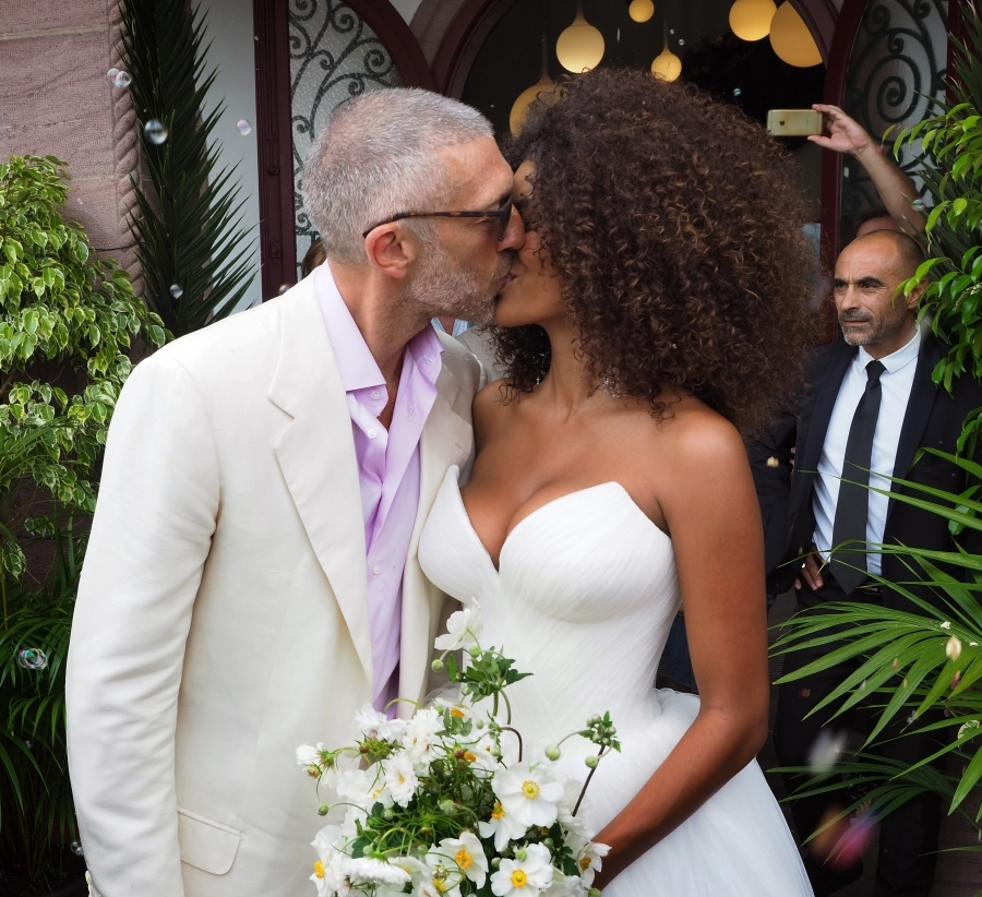 Tina Kunakey Wedding
