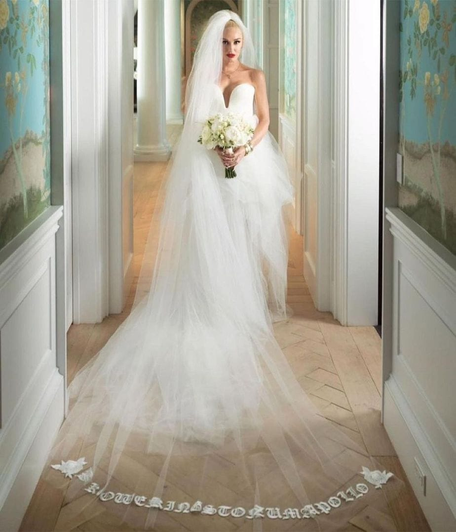 Gwen Stefani Vera Wang Wedding Dress