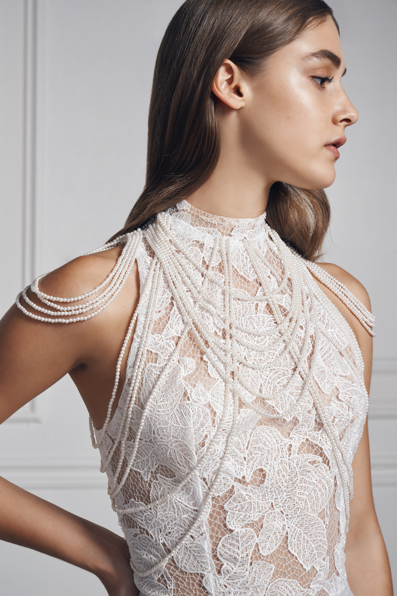 Anne Barge bridal fall 2020 Pearls of wisdom