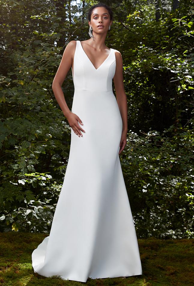 Anne Barge otoño 2021 Wish gown