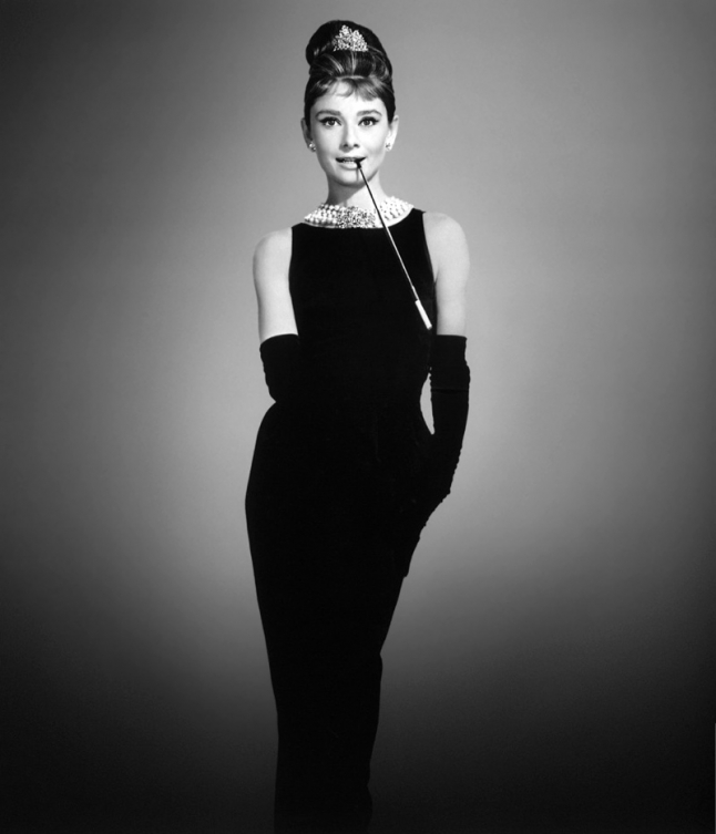 Audrey Hepburn Breakfast in Tiffany