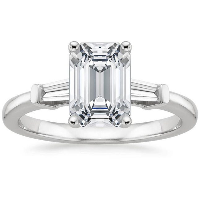 Side Stones Diamond Ring