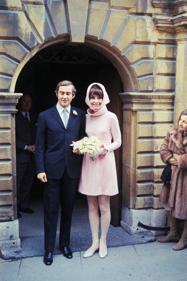 Audrey Hepburn Wedding dress Givenchy