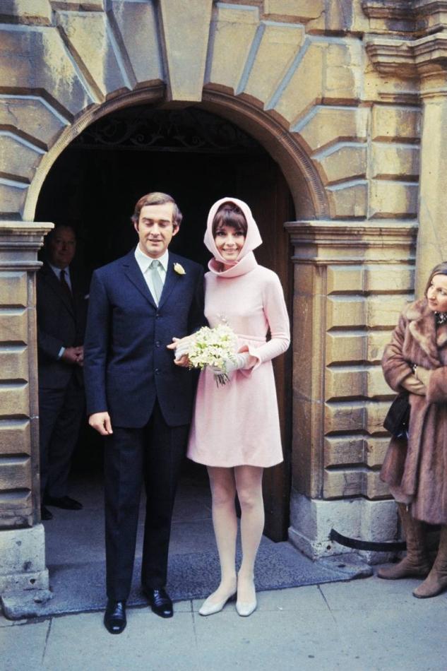 Audrey Hepburn Vestido de boda Givenchy