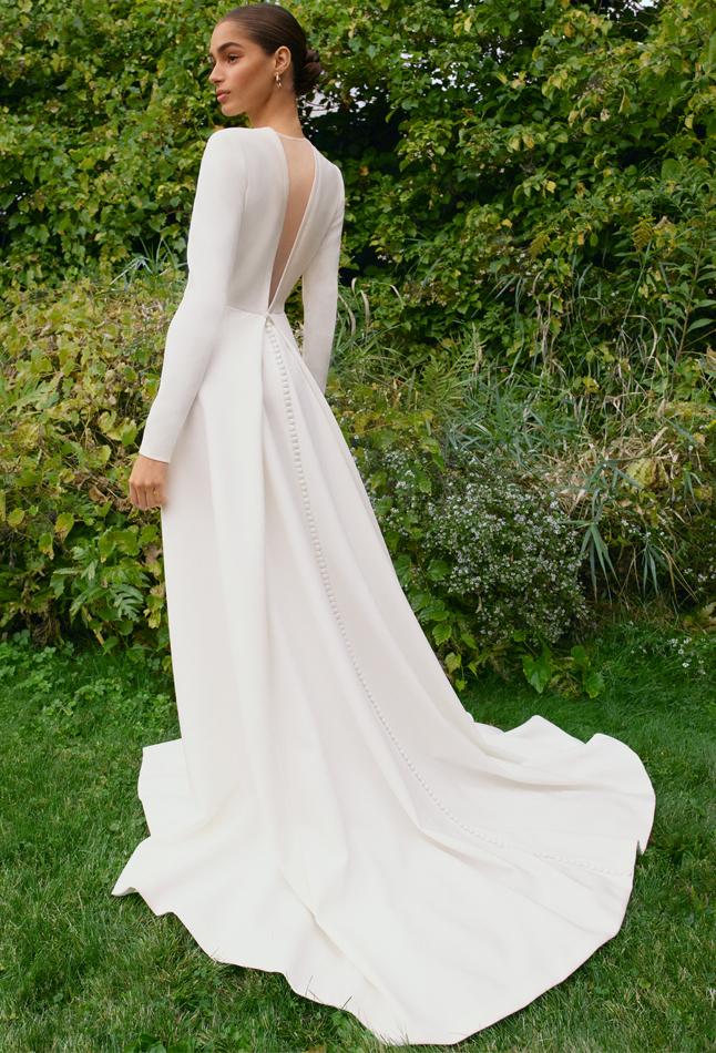 Carolina Herrera Novia Otoño 2021, Pearl Gown