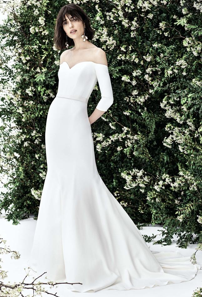 Carolina Herrera bridal Spring 2020 Luna