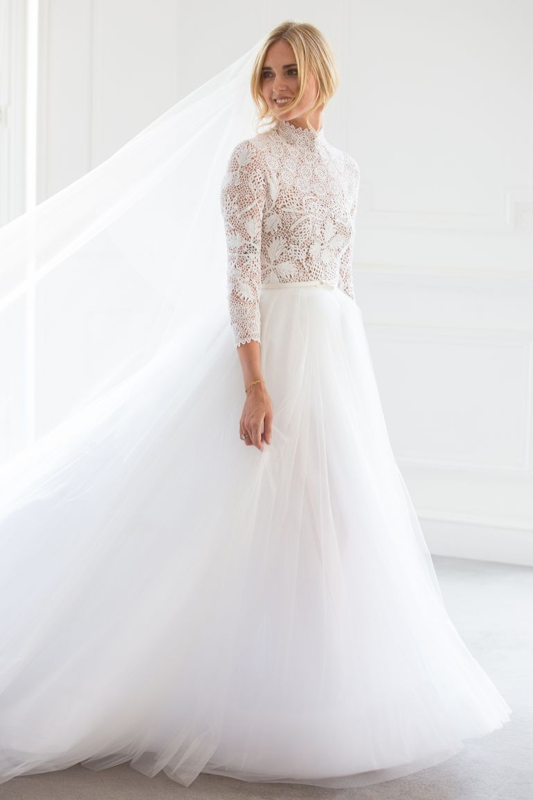 Chiara Ferrangi wedding Dress Dior