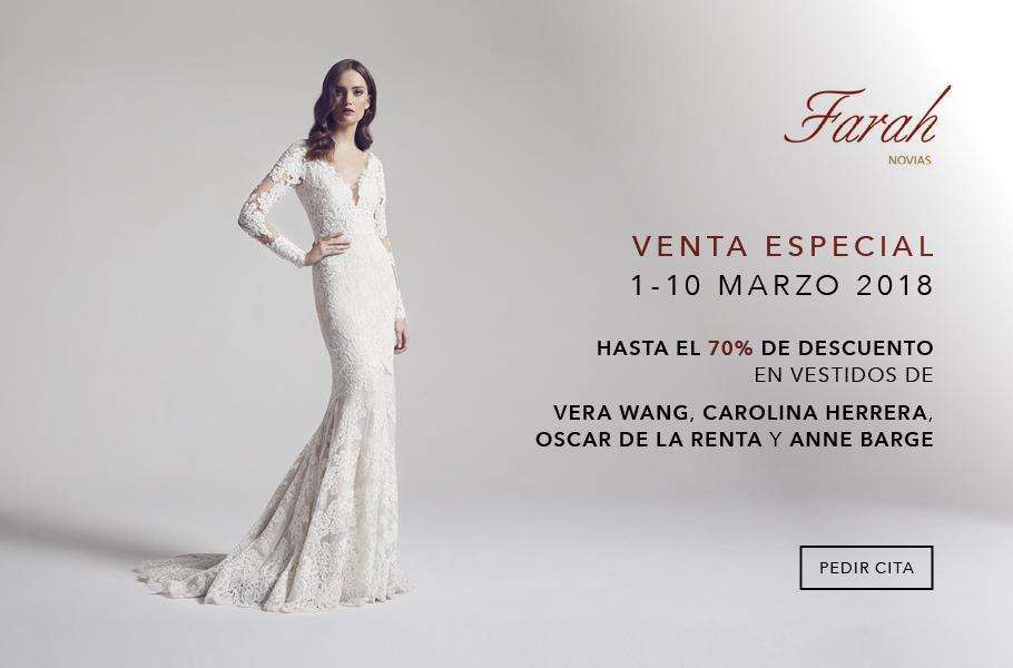 Farah Novias - Venta Especial Marzo 2018