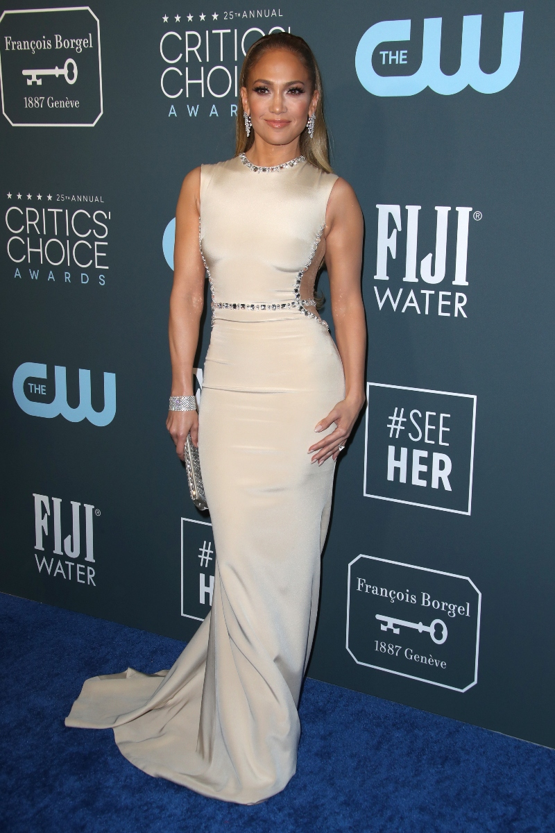 jennifer lopez critics choice awards 2020
