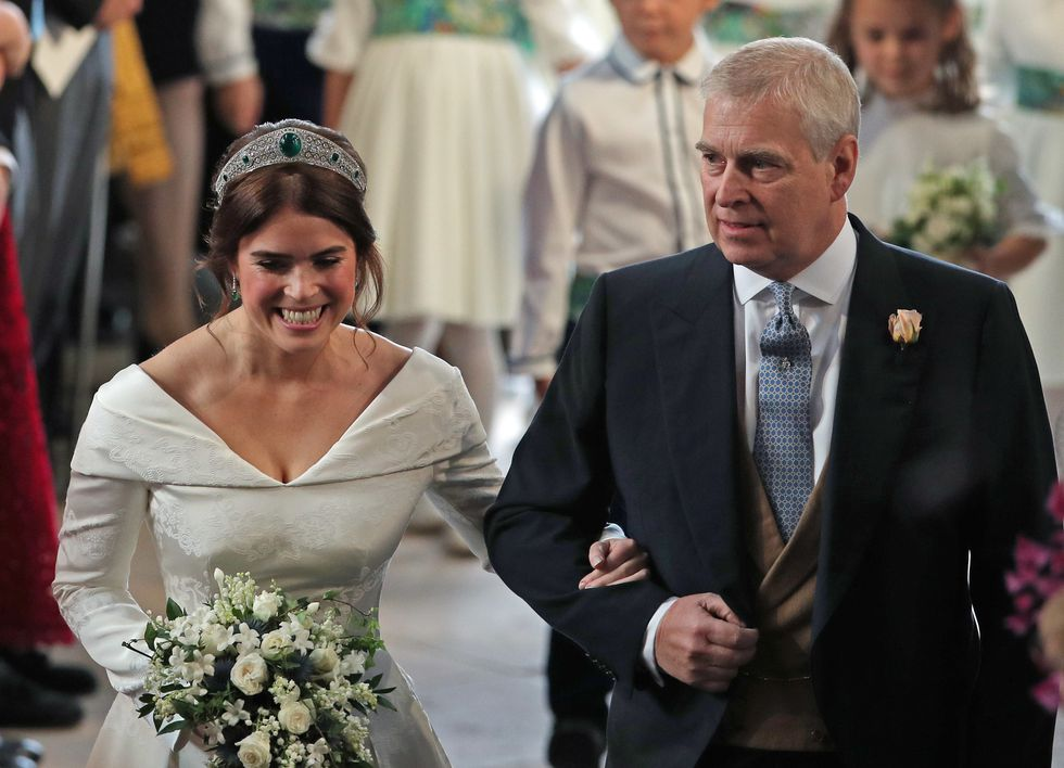 Princess Eugenie 's Wedding Dress
