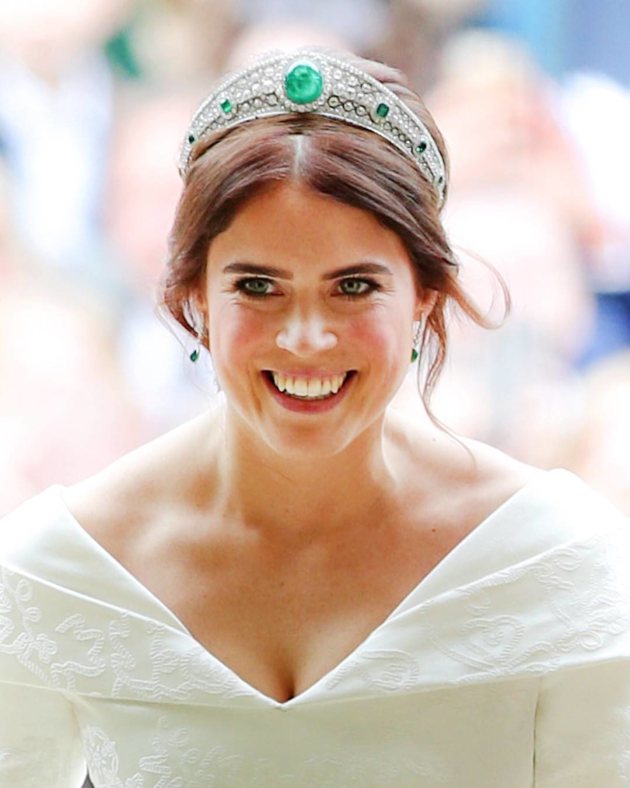 Princess Eugenie  Emerald Wedding Tiara