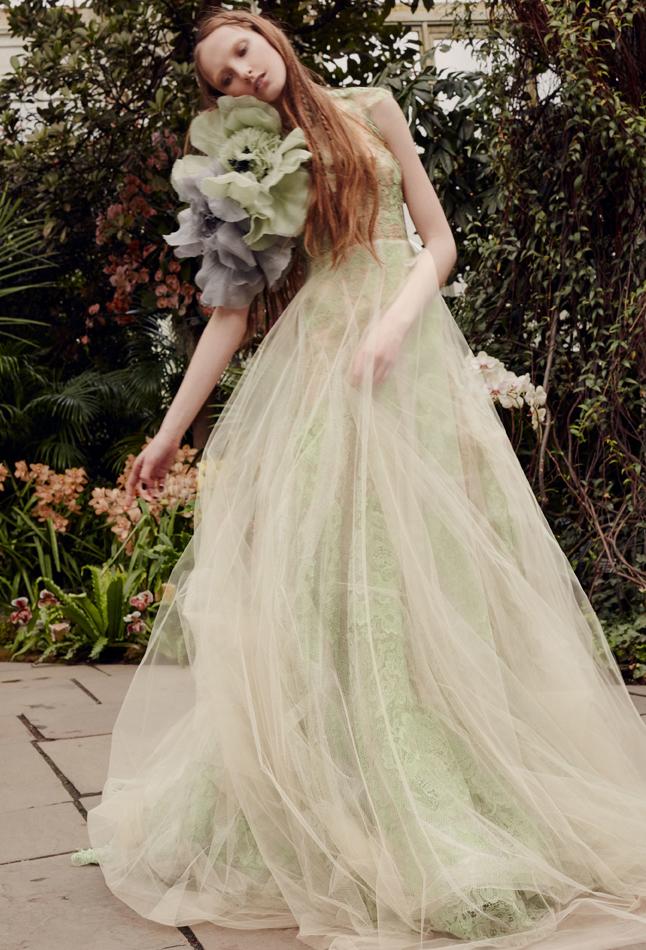 Vera Wang Bridal Spring 2020 / Sage